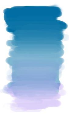 Free Painting Blue Sky. Stock Image - 24926001