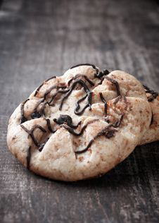 Free Chunky Chocolate Chip Cookie Royalty Free Stock Photos - 24927898