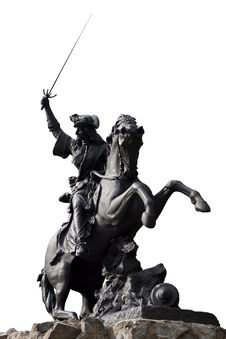 Free Horseman Fighter Sculpture Stock Photos - 24928143