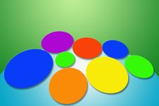 Free Abstract Bubble Color Background Stock Images - 24928964