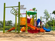 Free Children Playground Stock Photo - 24929710