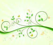 Free Floral Background Design Stock Image - 24934961