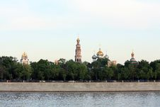 Free Towers Of The Novodevichy Convent Stock Photography - 24938232