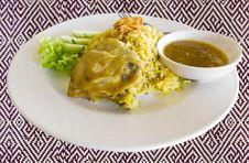 Free Chicken-Biryani Royalty Free Stock Image - 24939066