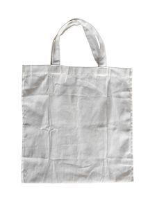 Free White Cotton Bag Royalty Free Stock Images - 24939299