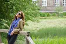 Free A Girl In A Countryside Stock Images - 24942724