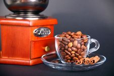 Aroma Of Fresh Coffee Royalty Free Stock Photo