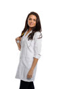 Free Young Female Doctor With Stethoscope Stock Photo - 24952970