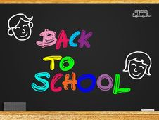 Free Back To School Royalty Free Stock Photo - 24976635