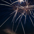 Free Colorful Fireworks Over Dark Sky Royalty Free Stock Images - 24982899
