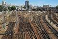 Free Railways Royalty Free Stock Photo - 24988055