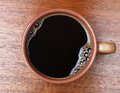 Free Coffee In A Ceramic Cup Stock Photo - 24988970