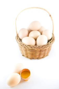 Free Eggs Royalty Free Stock Photos - 24980338