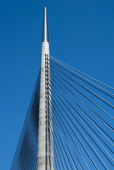 Free Pylon Of The Bridge-7 Stock Images - 24983374