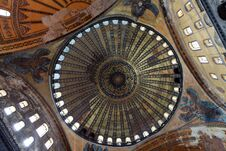 Free The Dome Of Hagia Sophia, Istanbul. Royalty Free Stock Image - 24985896