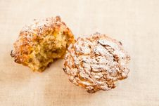Free Pumkin Muffins Royalty Free Stock Photo - 24989025