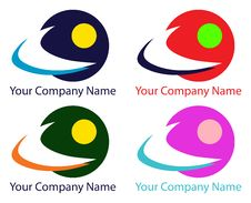 Free Company Logos Vector Design Royalty Free Stock Image - 24989246