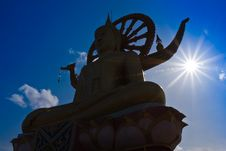 Free Big Buddha Statue Royalty Free Stock Image - 24989916