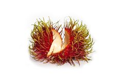Free Shell Of Rambutan Fruit Isolated Stock Photos - 24991053