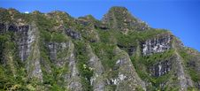Ko Olau Mountains, Hawaii Royalty Free Stock Photo