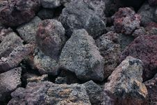 Free Lava Rocks, Big Island, Hawaii Stock Image - 24991211