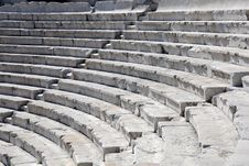 Closeup Ancient Theater In Plovdiv Royalty Free Stock Image