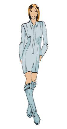 Free Fashion Girl. Stock Photo - 24992930