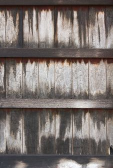 Free Old Wooden Walls. Stock Photo - 24993470