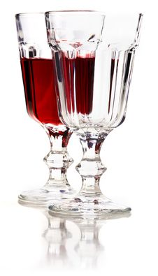 Free Red Wine. Stock Images - 24994294