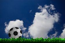 Free Soccer Football Royalty Free Stock Image - 24997656