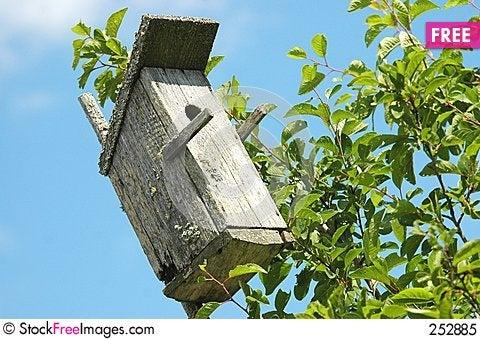 Free Bird House Royalty Free Stock Photo - 252885