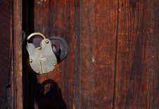 Free Locked Door - Horizontal Royalty Free Stock Image - 250566