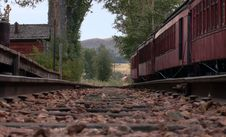 Free On The Tracks Stock Photography - 250572