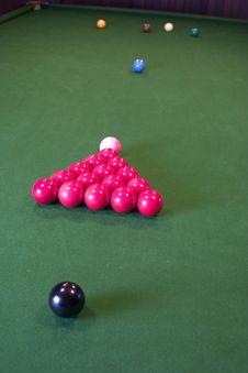 Snooker Balls Royalty Free Stock Photo