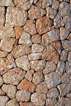 Free Spanish Stone Wall Stock Image - 251201