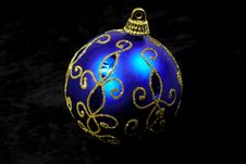 Free Blue Ornament Stock Photo - 251750