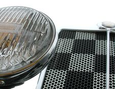 Free Front Grille And Headlight Stock Photos - 251923
