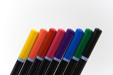 Free Colored Pencils Royalty Free Stock Photo - 252665