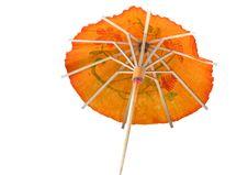 Free Orange Cocktail Umbrella 3 Stock Image - 253481