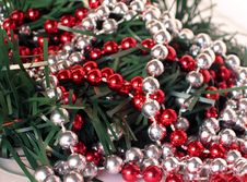 Free Beaded Garland Stock Image - 254501