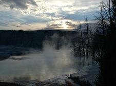 Free Hot Spring Sunrise Stock Photos - 254813