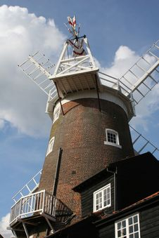 Free Norfolk Windmill Stock Image - 256451