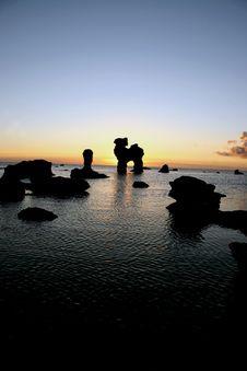 Free Arkipelag Sunset Stock Photo - 258010