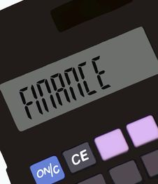 Free Calculator Stock Photo - 258980