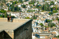 Free Roofs Of Old City Of Granada Royalty Free Stock Images - 2505539