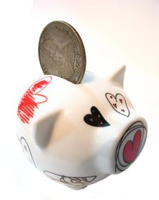Free Money Box Stock Photography - 2500062
