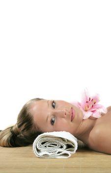 Free Wellness Beauty Portrait Royalty Free Stock Photos - 2501728