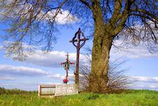 Free A Timber Cross Stock Image - 2503491