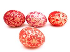 Free Nice Easter Eggs Royalty Free Stock Photography - 2503907
