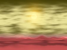 Free Abstract Landscape Stock Image - 2505201